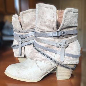 Jellypop Ankle Boots Size 6.5